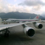 Cargolux Airplanes in Runway