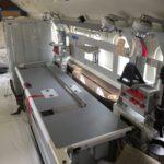 F90)EX Air Ambulance on Airplane