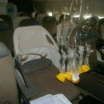 Oxygen Mask Drop in Airplane