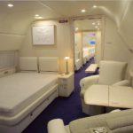 VIP Interior of Airplane